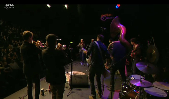 Live on ARTE-TV at Jazzahead! with the Fischermanns Orchestra
