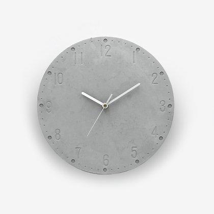 שעון לעיצוב הבית ועיצוב הסלון שעון קיר מבטון עם מספרים לעיצוב חדר השינה