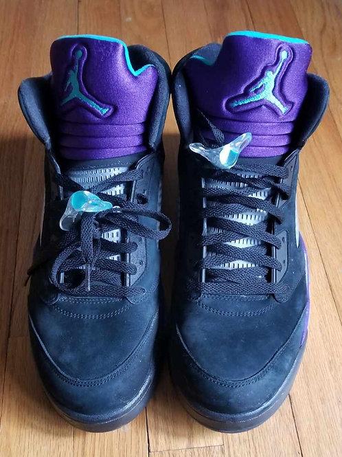 "Air Jordan 5 Retro ""Black Grapes"""