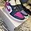 """Thumbnail: Air Jordan 1 Mid """" Purple Magenta"""" WMS"""