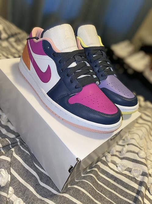 "Air Jordan 1 Mid "" Purple Magenta"" WMS"