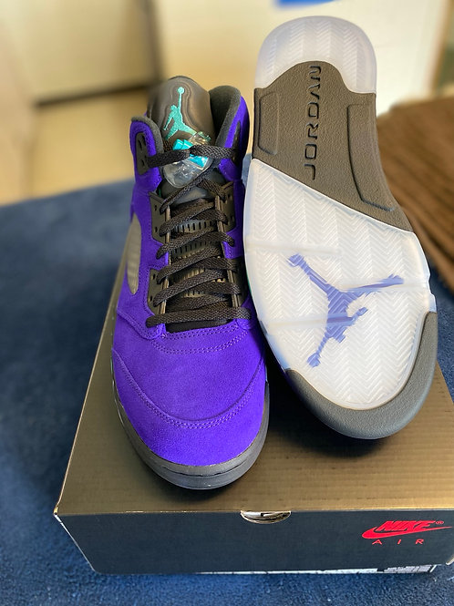 "Air Jordan Retro 5 ""Alternate Grape"""