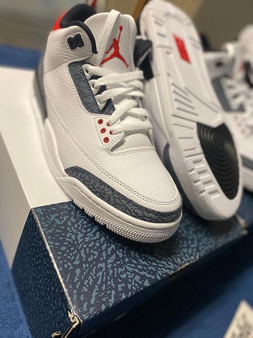 "Air Jordan Retro 3 ""Denim"""