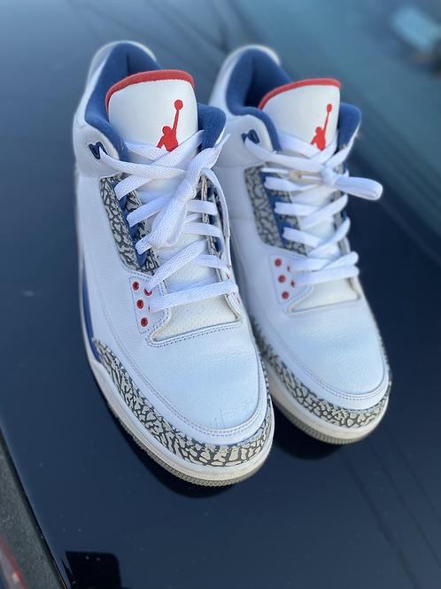 """Air Jordan 3 Retro """"true blue"""""""