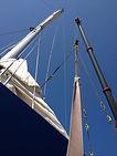 Segelboot,Regatta,Sturmschaden, Expertise, Müller AG, Thun, Thunersee, Einwassern, Auswassern