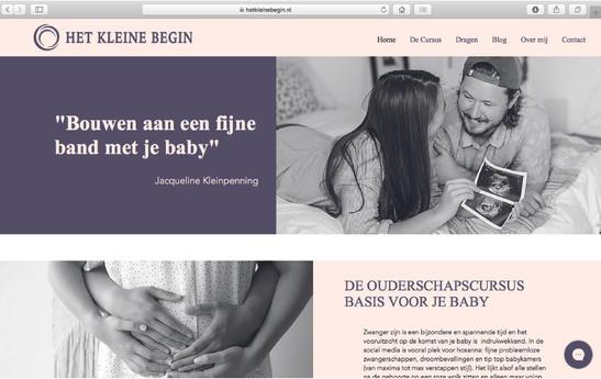 Web Design - Het Kleine Begin