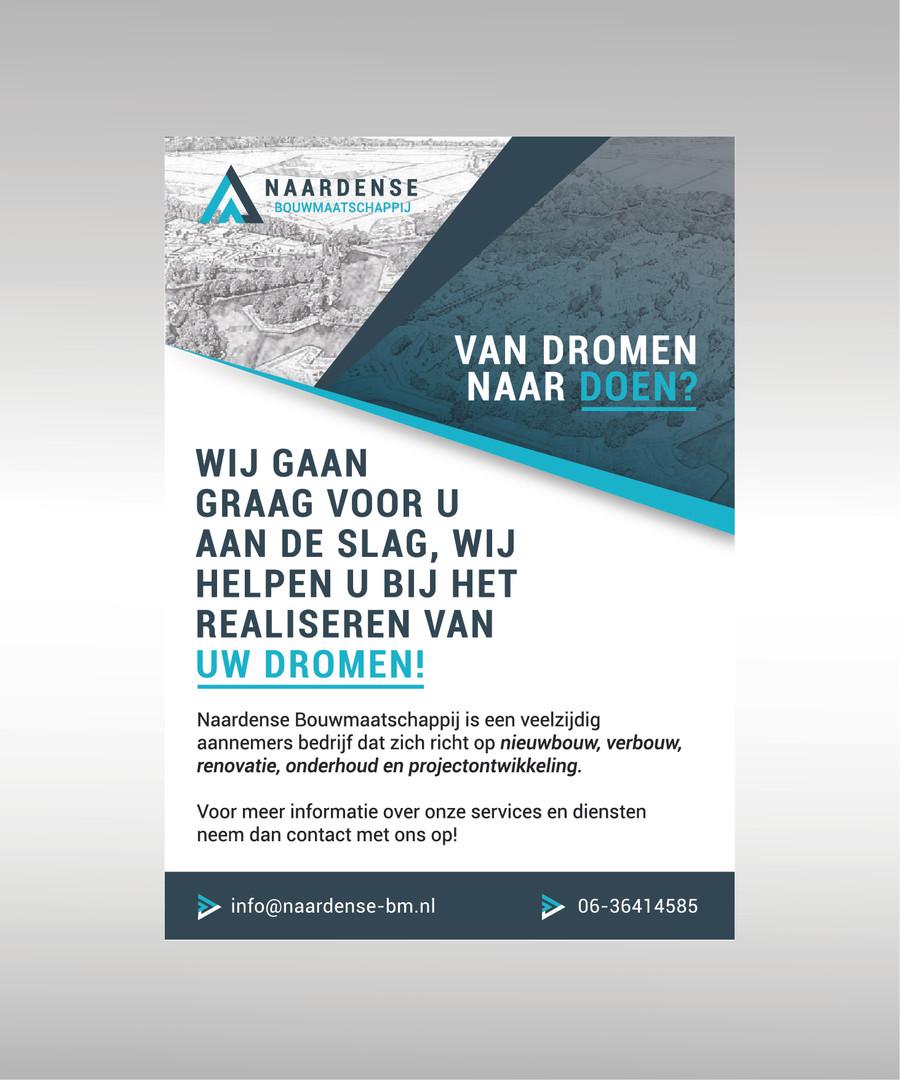 Flyer Design - Naardse Bouwmaatschappij
