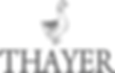 thayer wedding photography logo