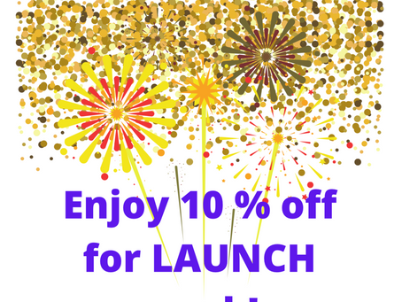 We are LAUNCHED and ready to CELEBRATE!!!