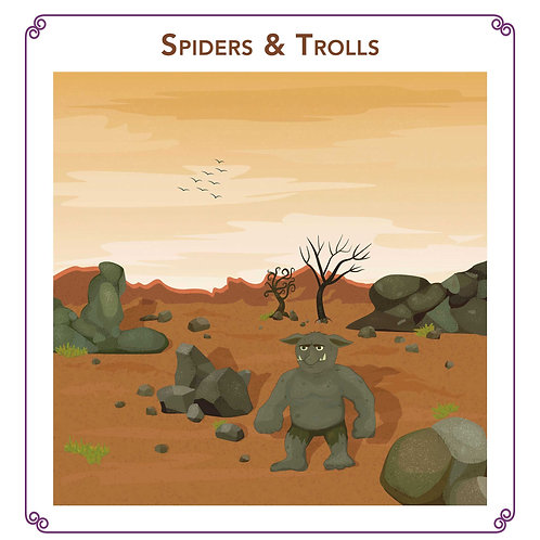 Spiders & Trolls - Storywhizz