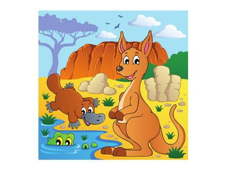 Australian Animals - Kangaroo