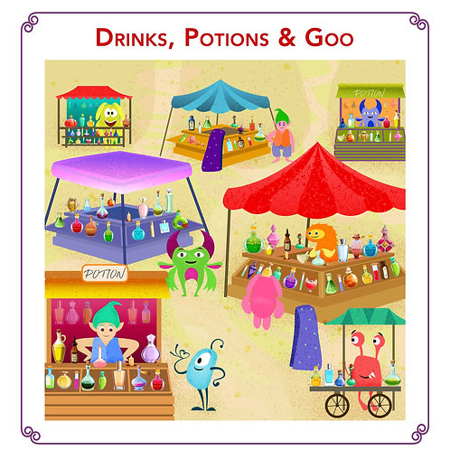 Drinks, Potions & Goo - Deluxe Story