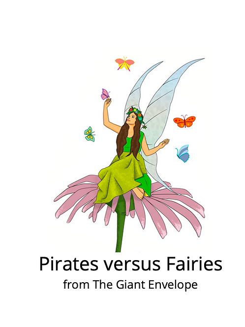 Pirates versus Fairies - Storywhizz