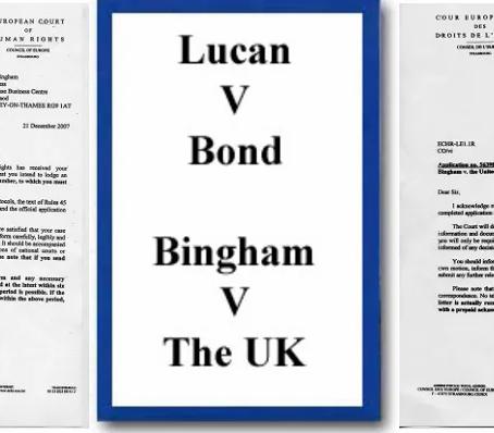 LUCAN V BOND BINGHAM V THE U.K