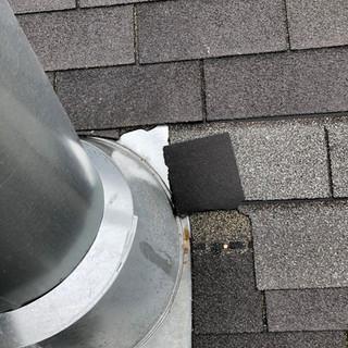 Roof Repair - Before