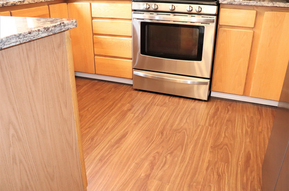 LVP Flooring - After