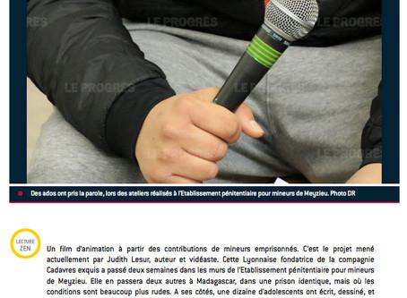 """Rubrique """"Faits Divers"""" Le Progrès de Lyon"""