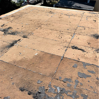 Roof Rehab - Before