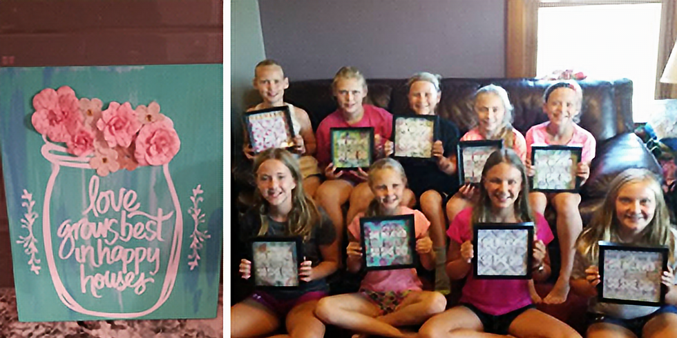 Kids Crafternoon with Desire2inspire