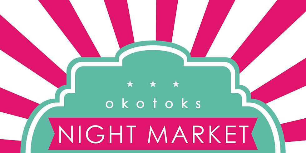 Okotoks Night Market on Aug 1