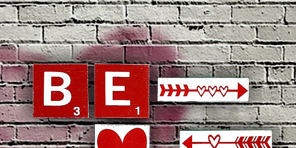 Be Mine Gallery Wall with Lines By Lacey