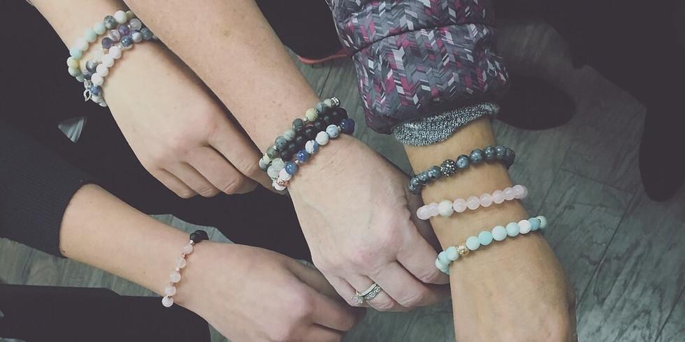 Intention Bracelet Workshop w/ Sparkle + Grace