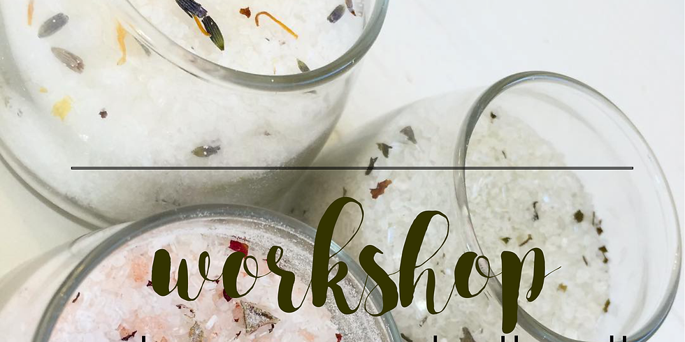 Create Your Own Bath Salts with Suntree Soaps
