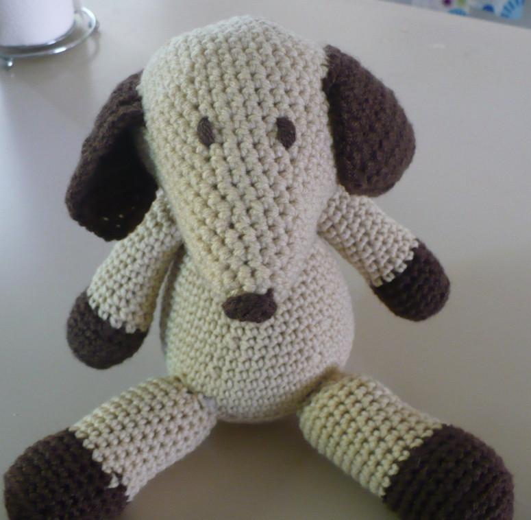 Crochet pupper