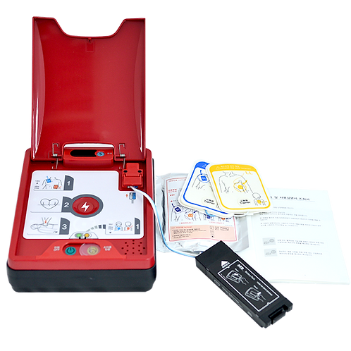 Automated External Defibrillator, AED, Semi Automated, Emergency Equipment