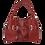 Thumbnail: Cowhide Pattern Point TOTE BAG