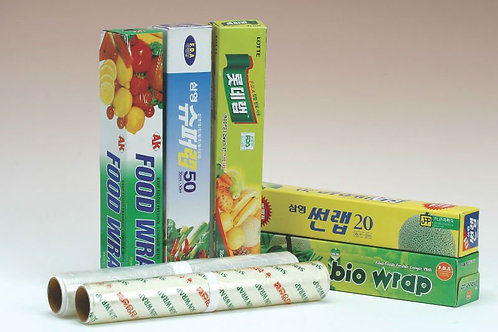 SUN WRAP, PVC Film for food packing, household use and Industrial use