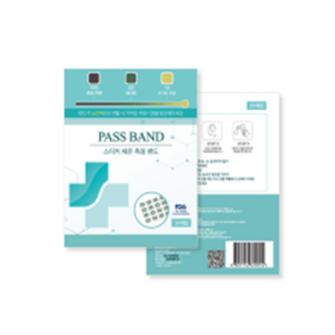 PASS BAND Sticker Type Thermometer for Fever Measurement