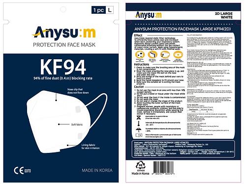Anysum Protection Facemask KF94 Large 2D