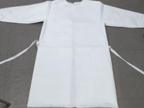 Surgical Gown using same material as Protective Suit Protects from biohazards