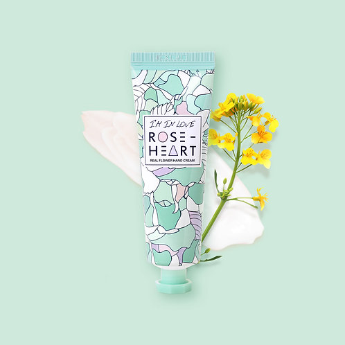 IM IN LOVE ROSEHEART REAL FLOWER HAND CREAM
