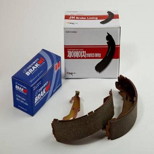 Brake Pad & Shoe Assembly for Korean and Japanese and European cars.