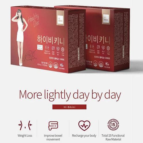 HIBIKINI Dietary Supplement Main Ingredient Garcinia Cambogia, K-pop Idol Model