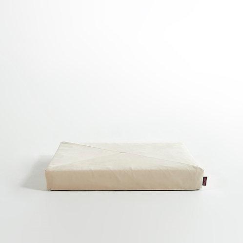 Square Square Pet Sofa Premium Suede Fabric Like Latex Foam