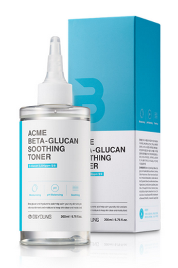 O&Young ACME Beta-Glucan Soothing Toner