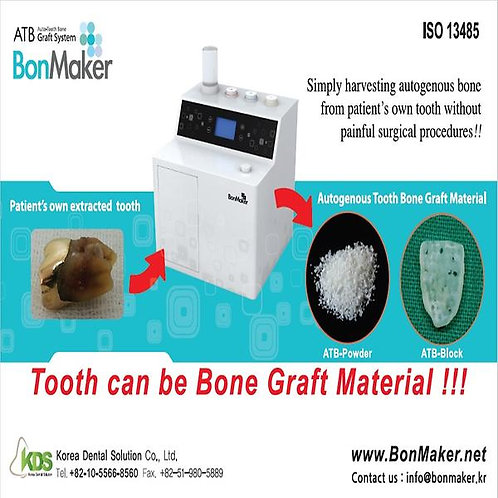 BonMaker -- Auto-Tooth Bone producer
