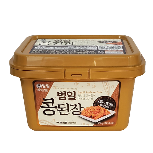 Soybean Paste Stew, Korean Miso, Doenjang 툴팁