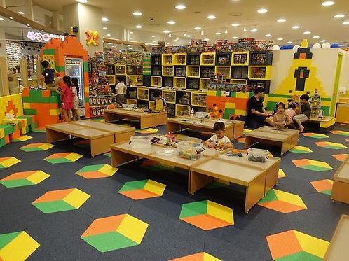 expanded polyproplylene blcok toys kids playground block module
