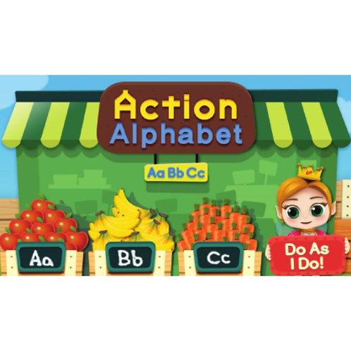 English Alphabet Learning Program with MR