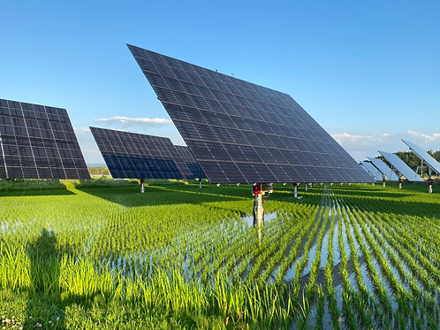 Solar Structures or Solar Tracking Structures