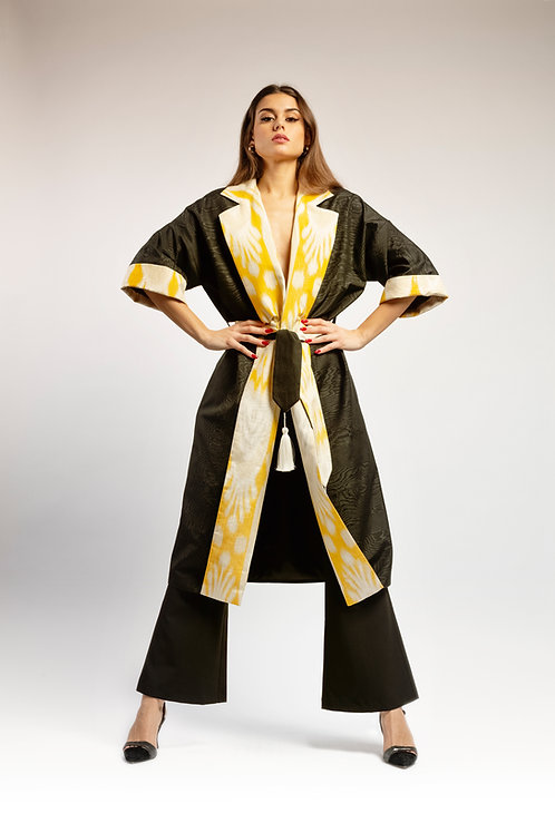 Imperial Coat Black & Yellow