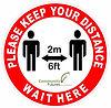 Keep Distance Wait Here 8inch.jpg