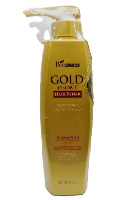 Biowoman Gold Essence Hair Repair Shampoo / Шампунь для сухих и поврежденных вол