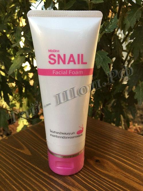 Пенка для лица со 100% экстрактом улиточного фильтрата