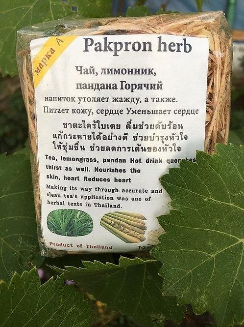 Лимонная трава для приготовления чая или тайских блюд 100 гр.