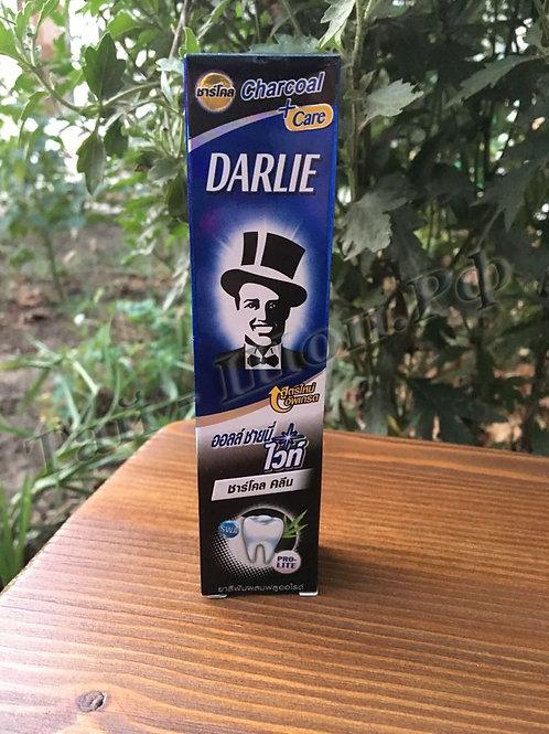 Угольная зубная паста Дарли «Сияние белизны и бамбуковый уголь» 40 грамм